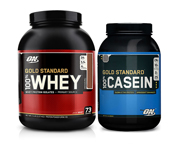 ON 24 HOUR PAK: 100% WHEY PROTEIN GOLD 5 LBS + CASEIN GOLD 2 LBS
